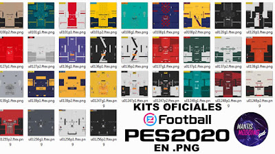 eFootball PES 2020 Datapack 1.0 Extracted Kits by Junior Mantis