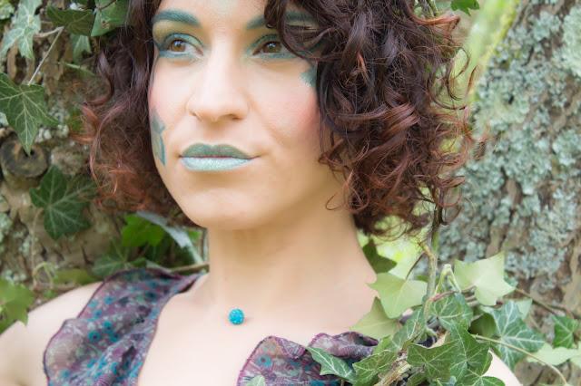 maquillage vert emeraude msc