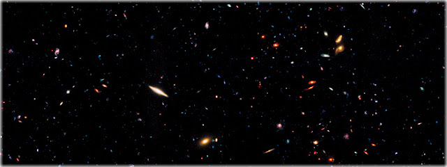 Universo tem 10 ou 20 vezes mais galáxias do que pensávamos