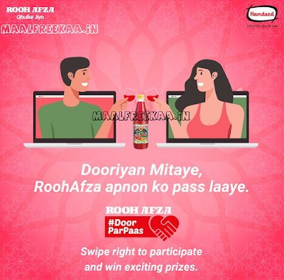 Win RoohAfza Contest Prizes