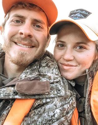 Austin Forsyth and Joy-Anna Duggar Forsyth elk hunting