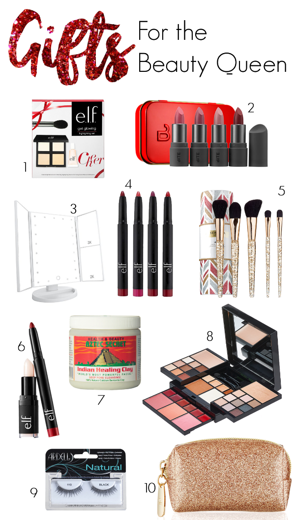 Holiday Gift Guide for Beauty Queen Makeup Lovers Christmas 2016