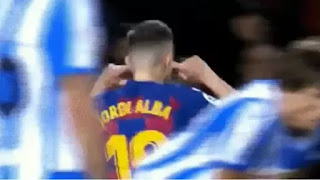 'Whistling at 15th min makes me angry' - Alba on his gesture to Barca fans