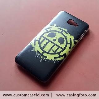 custom case logo trafalgar law keren
