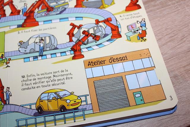 livre en carton sur les voitures