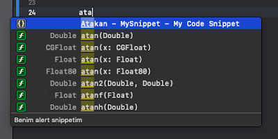 Swift Code Snippets