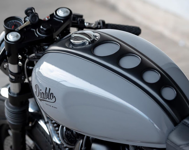Royal Enfield GT650 By K-Speed Hell Kustom