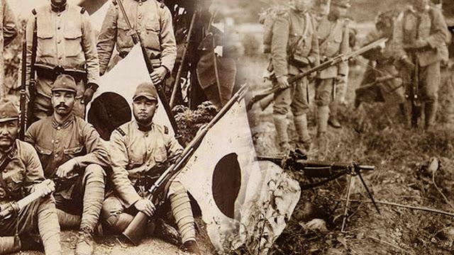 Gambar ilustrasi Tentara Jepang di Indonesia