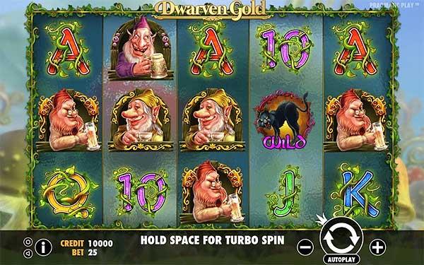Main Gratis Slot Indonesia - Dwarven Gold (Pragmatic Play)