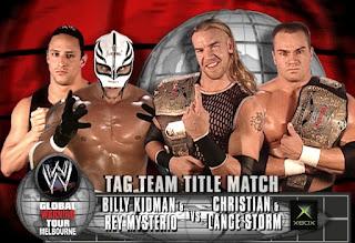 WWE Global Warning 2002: Rey Mysterio & Billy Kidman vs. Lance Storm & Christian