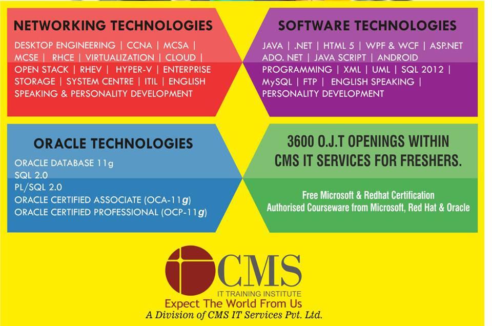 Cms Noida On Job Trainings