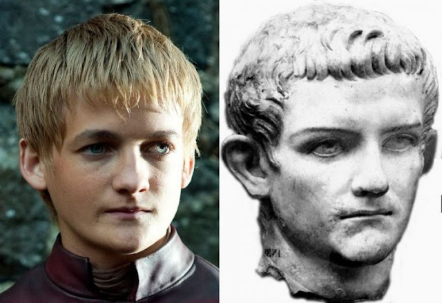 Caligula and Jack Gleeson