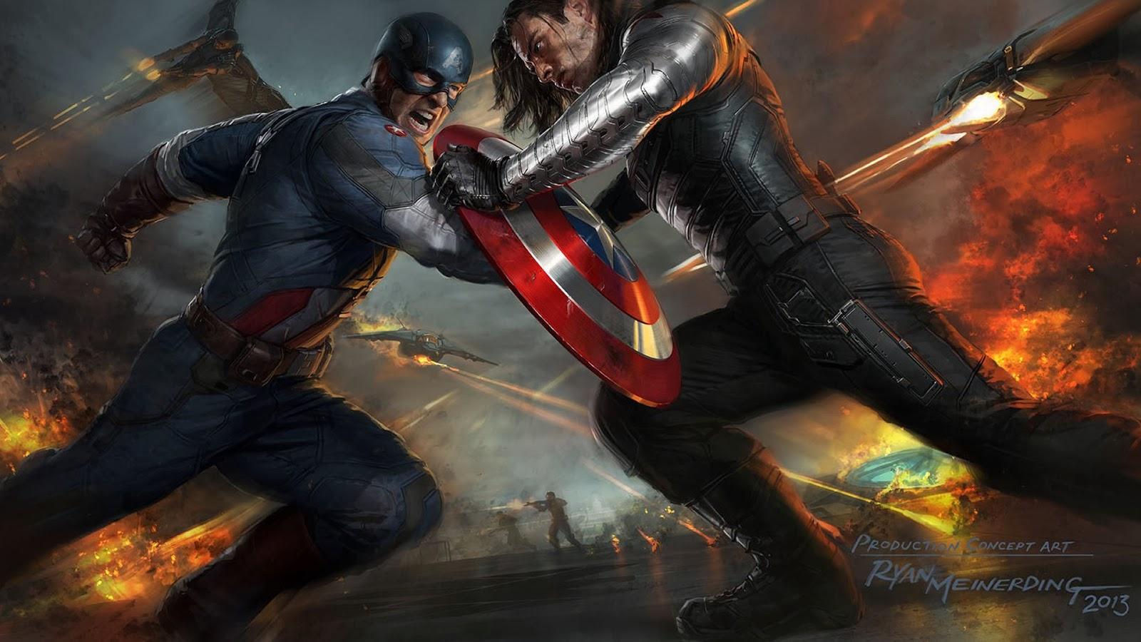 Sneak Peek Captain America The Winter Soldier In Action