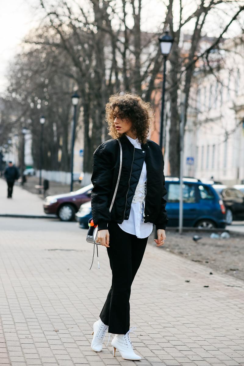 кропнутые брюки как носить