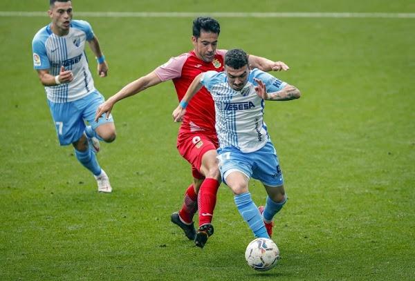 El Málaga cae en casa contra el Fuenlabrada (0-1)