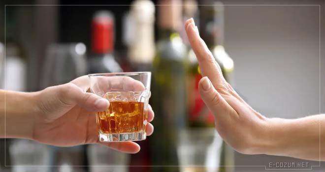 Alkol - Yaşlandıran yiyecekler