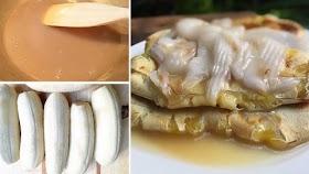 """แจกฟรีสูตร """"กล้วยปิ้งมะพร้าวอ่อน"""" อร่อยฟินๆ (ไม่ใส่แป้งด้วยนะ) หอมมันนุ่มลิ้น"""