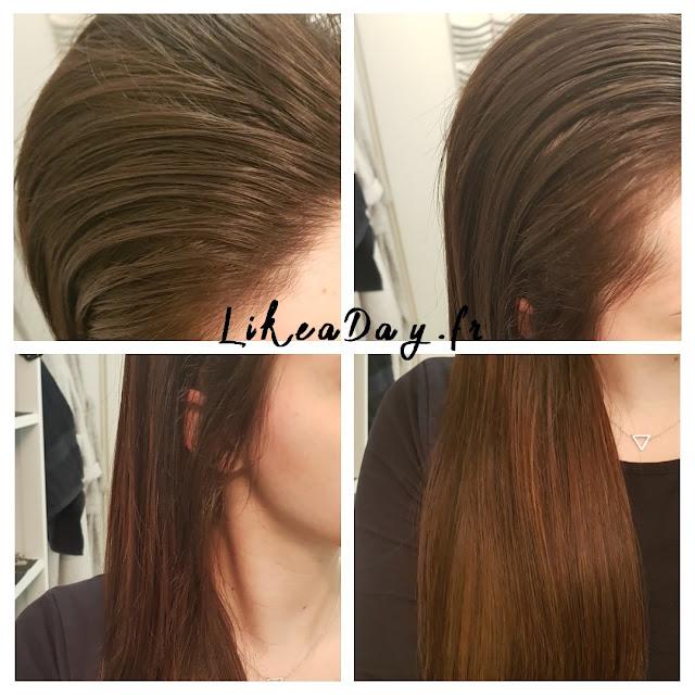 Ampoule pour stimuler pousse cheveux