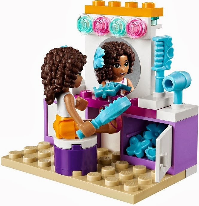 My Lego Style: LEGO Friends Andrea's Bedroom 41009