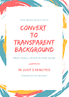 How to make Transparent Background of any image using 100% Free tools Just in 2 minutes