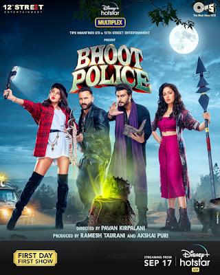 Bhoot Police (2021) Hindi 5.1ch 1080p HDRip ESub x265 HEVC 1.7Gb