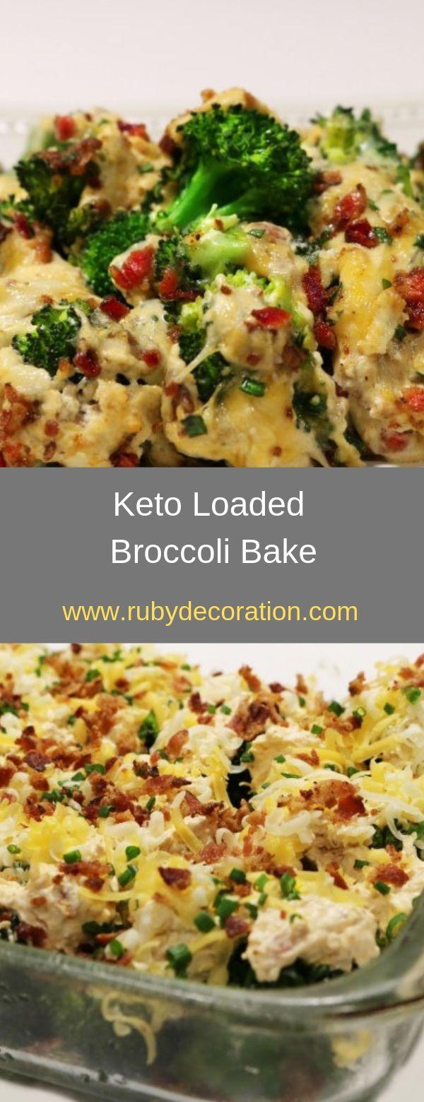 Keto Loaded Broccoli Bake