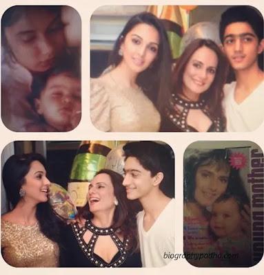Kiara Advani family image