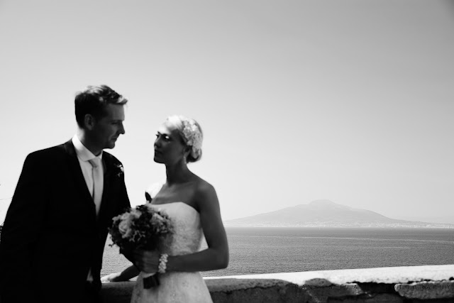 Wedding portraits in Sorrento