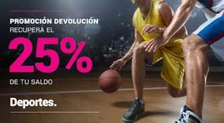 Goldenpark devolucion deporte hasta 7 marzo 2021