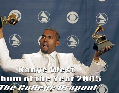 Kanye West, not at the 2017 Grammys