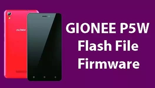 Gionee P5W Flash File Tested (Stock ROM Firmware)