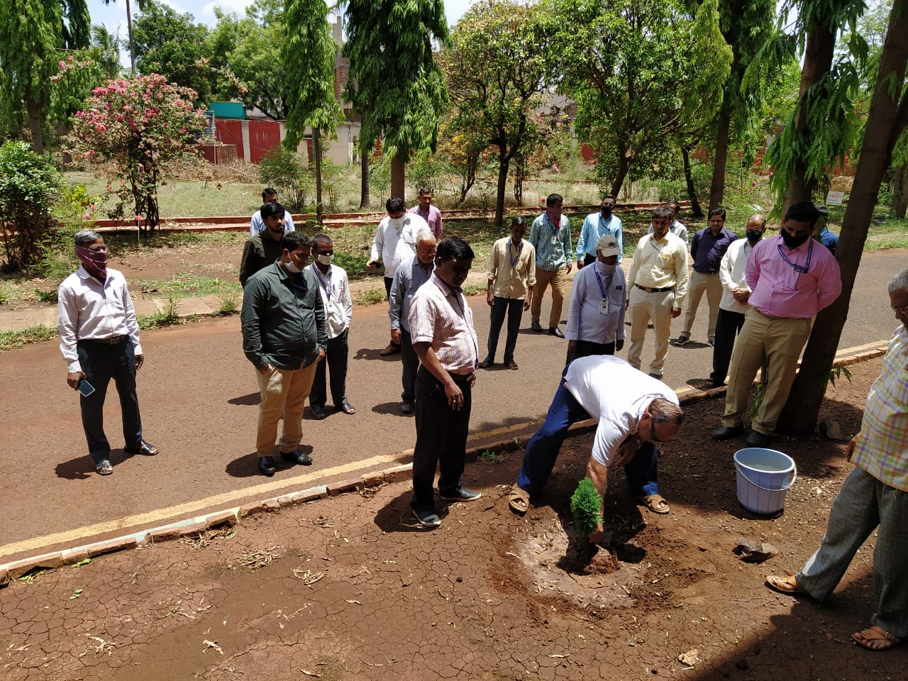 World Environment Day was celebrated in Civil Engineering Department, GNDEC, Bidar on 5th June 2020.