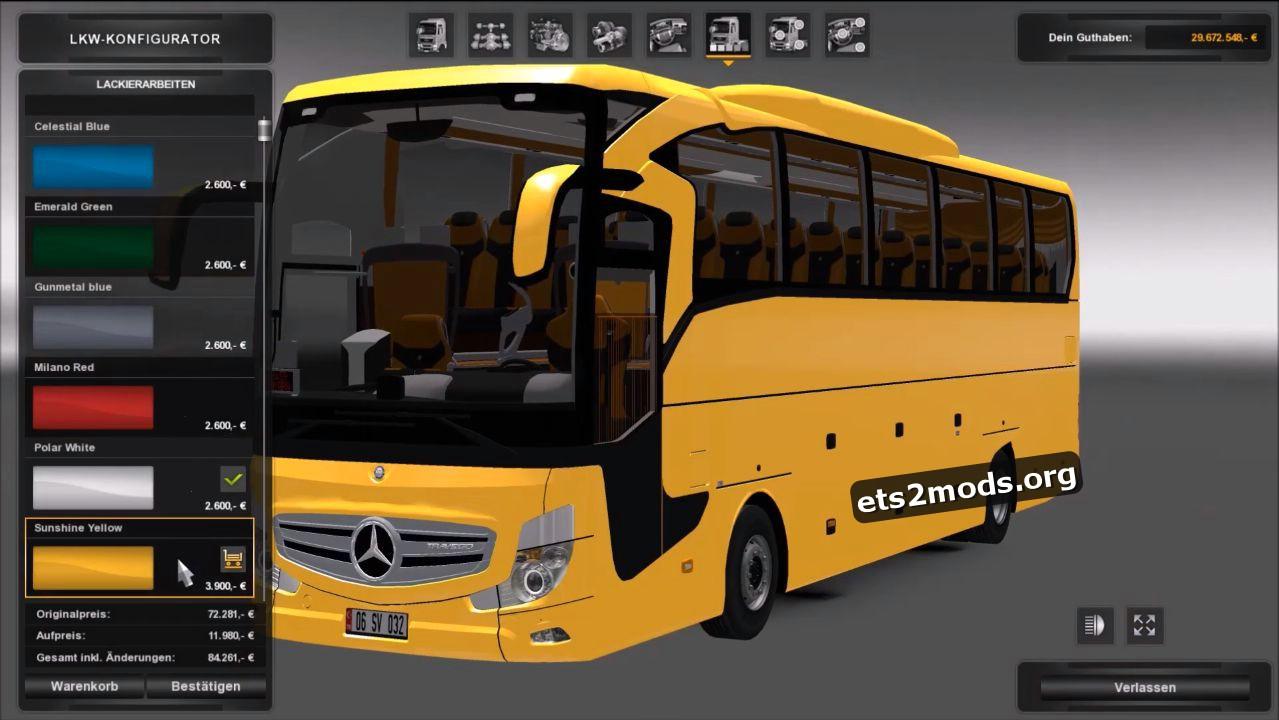 Bus - Mercedes Benz Travego 2016