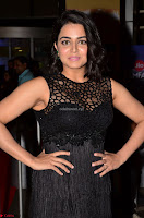Wamiqa Gabbi in a sleeveless Black Designer Transparent Gown at 64th Jio Filmfare Awards South ~  Exclusive 016.JPG