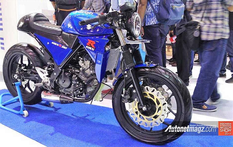 Suzuki GSX-R150 Custom Cafe Racer Price in India, Launch