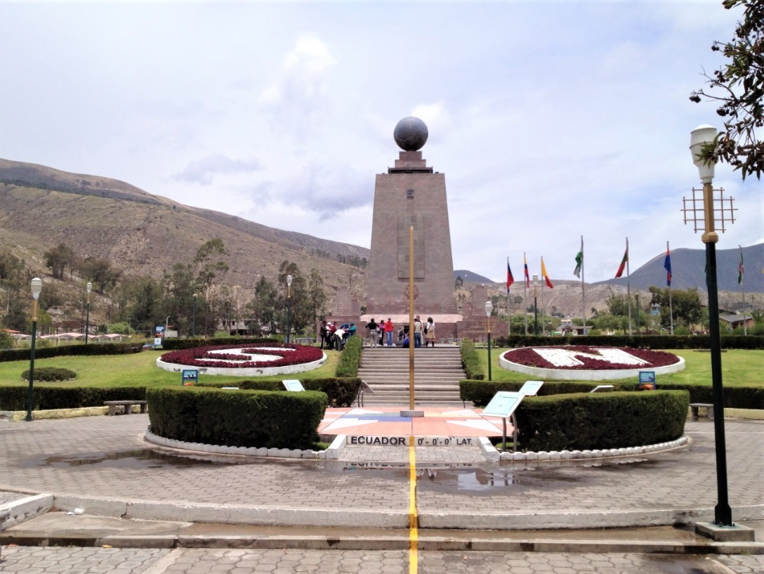 Mitad del Mundo en Ecuador