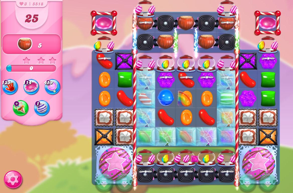 Candy Crush Saga level 5518