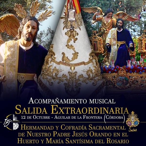 La Salud de Córdoba acompañará a La Oración en el Huerto de Aguilar en su salida extraordinaria
