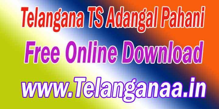 Telangana TS-Land Records AadharLinking Free web site Mabhoomi.telangana