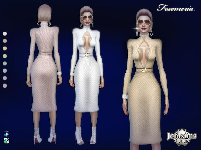 Женская одежда для The Sims 4 со ссылками на скачивание