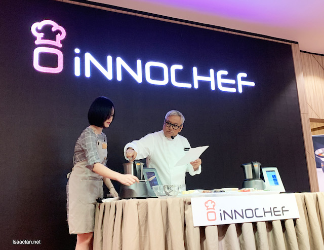 Chef Wan at the Launch of InnoChef Touch