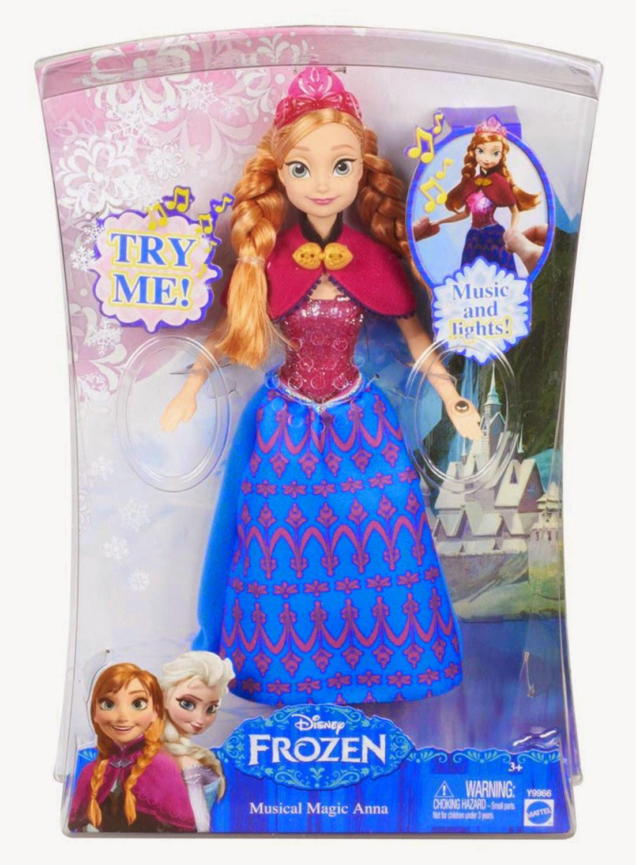 All Things Children Disney Frozen Musical Magic Anna Doll
