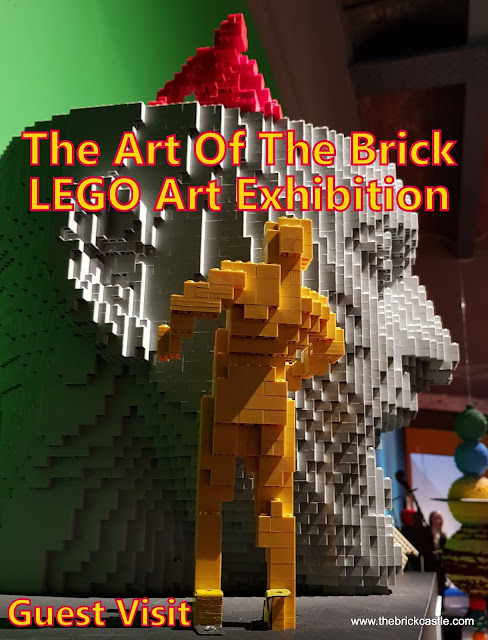 The Art Of The Brick LEGO Art Exhibition Review at Great Northern Warehouse manchester