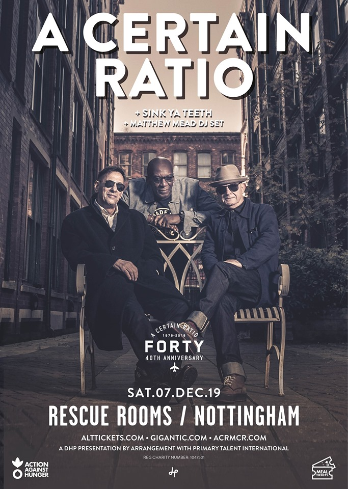ACR Gigography - 7 December 2019, Rescue Rooms, Nottingham