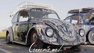 Volkswagen Bettle Oil Slick