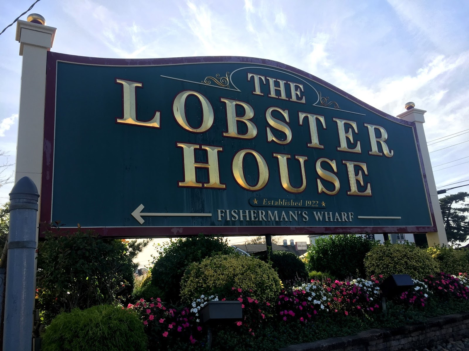 Dockside Lunch At The Lobster House, Cape May, NJ