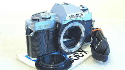 Minolta X-300 (Chrome) Body #347