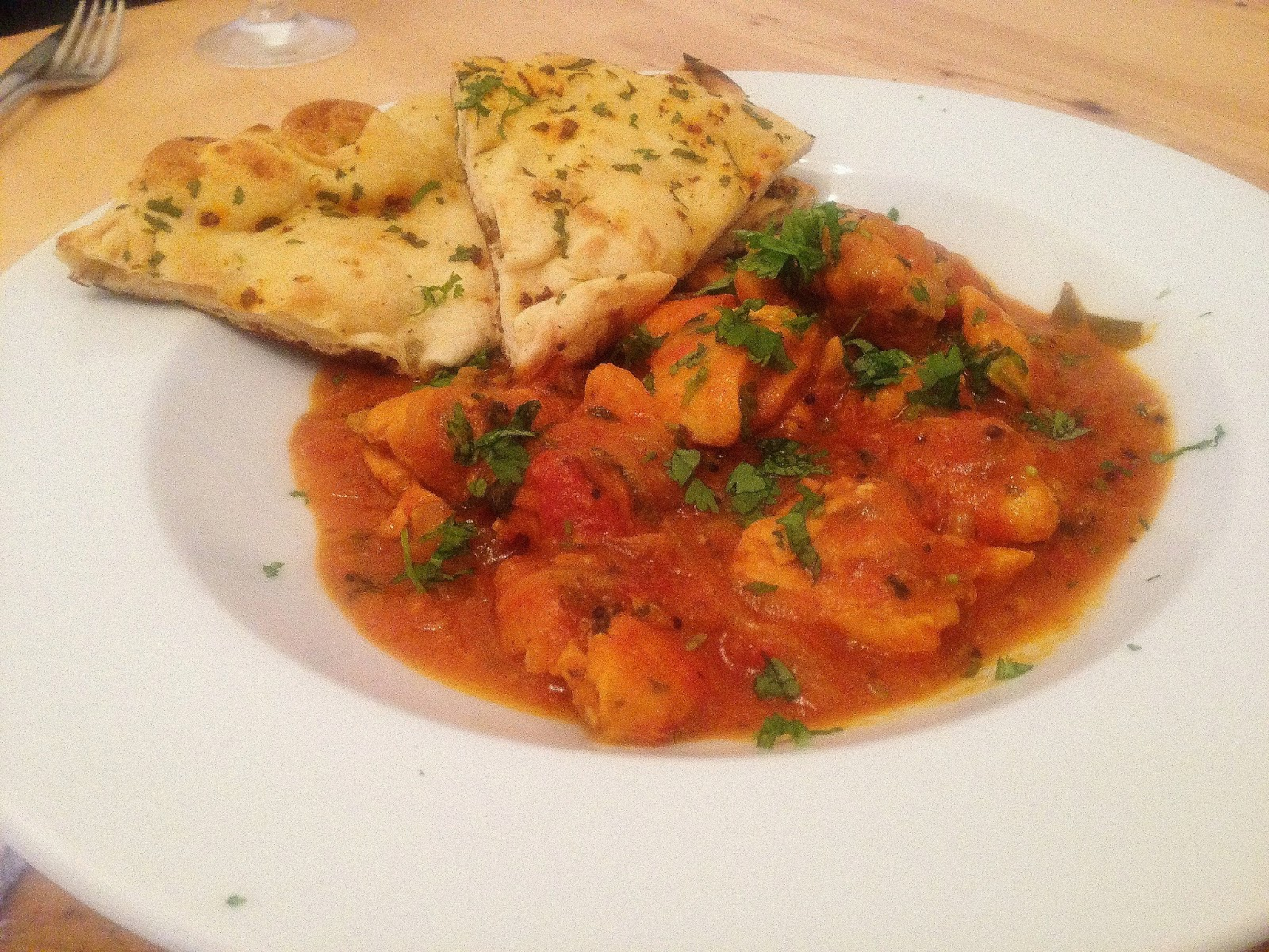 Southern Indian Chicken Curry