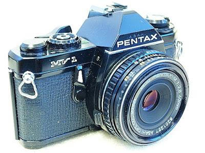 Pentax MV1, SMC Pentax-M 40mm F2.8