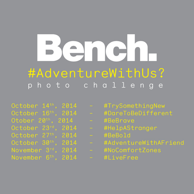 Bench Canada #AdventureWithUs